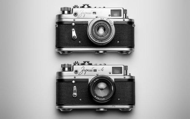 Retro aparaty w prezencie na 18 urodziny dla brata