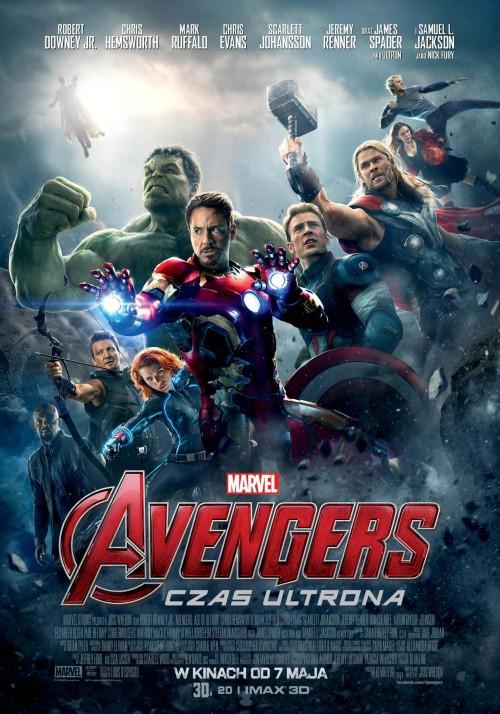 Na co do kina - akcja, romans czy bajka? - Avengers - czas ultrona plakat