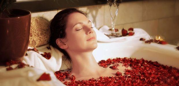 Prezent dla przyjaciółki - relaksująca kąpiel
