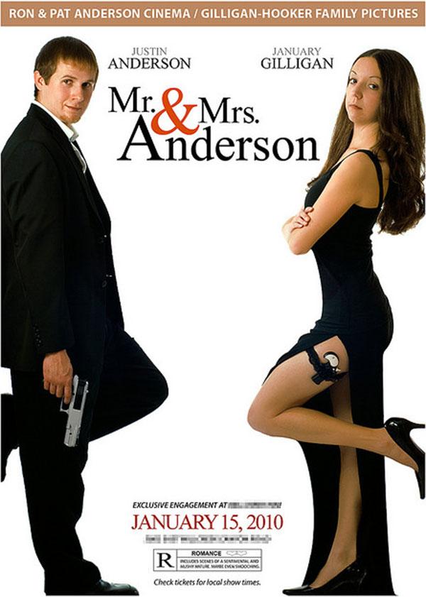 Spersonalizowany plakat filmowy dla męża