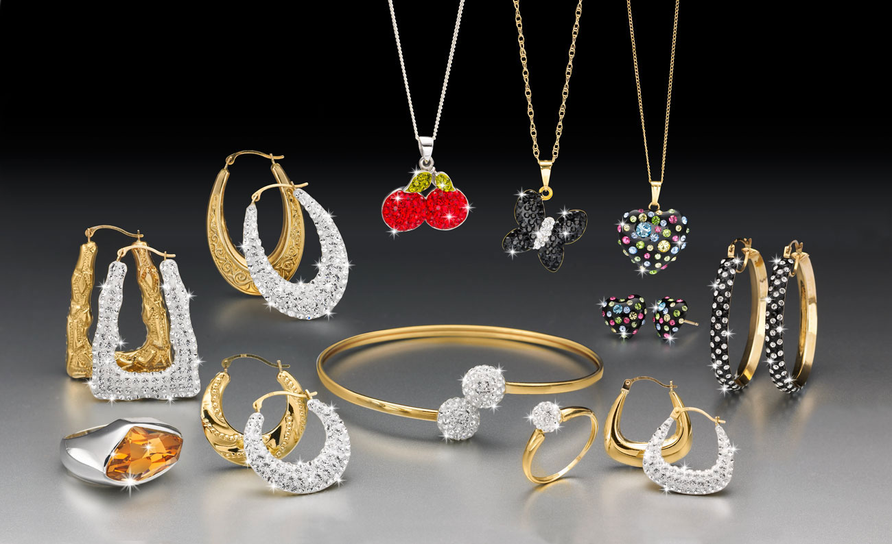 piękna biżuteria dla pani domu