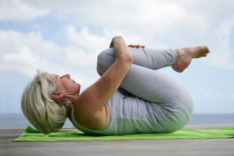 prezent dla babci - joga