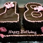prezent na 18 dla dziewczyny - tort