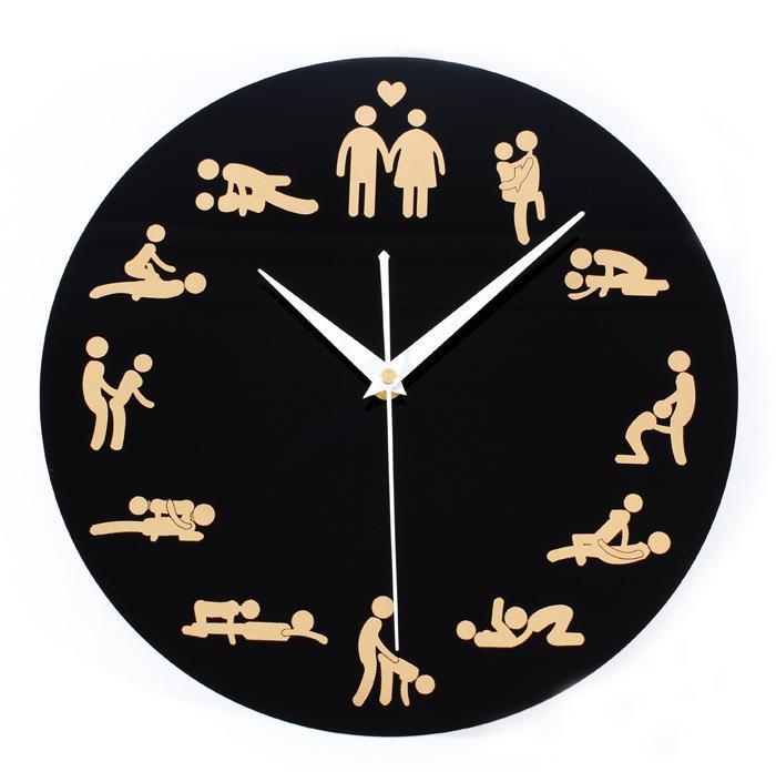 śmieszny zegar na prezent