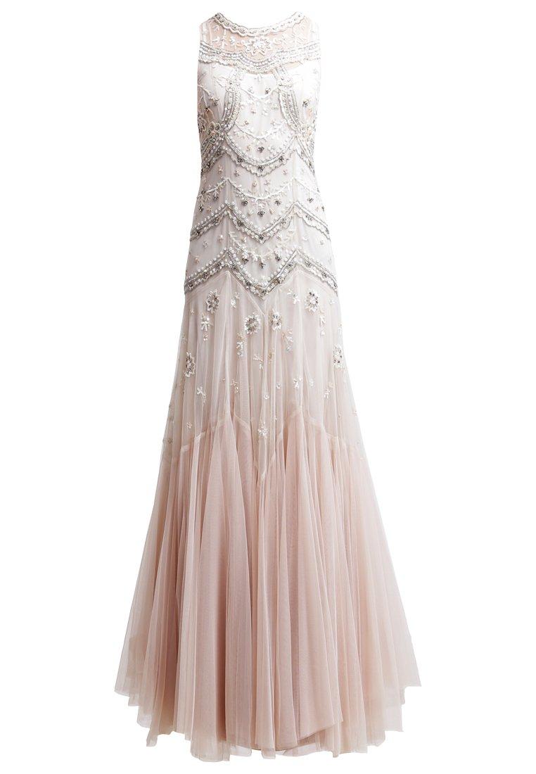 suknie balowe pudrowy róż