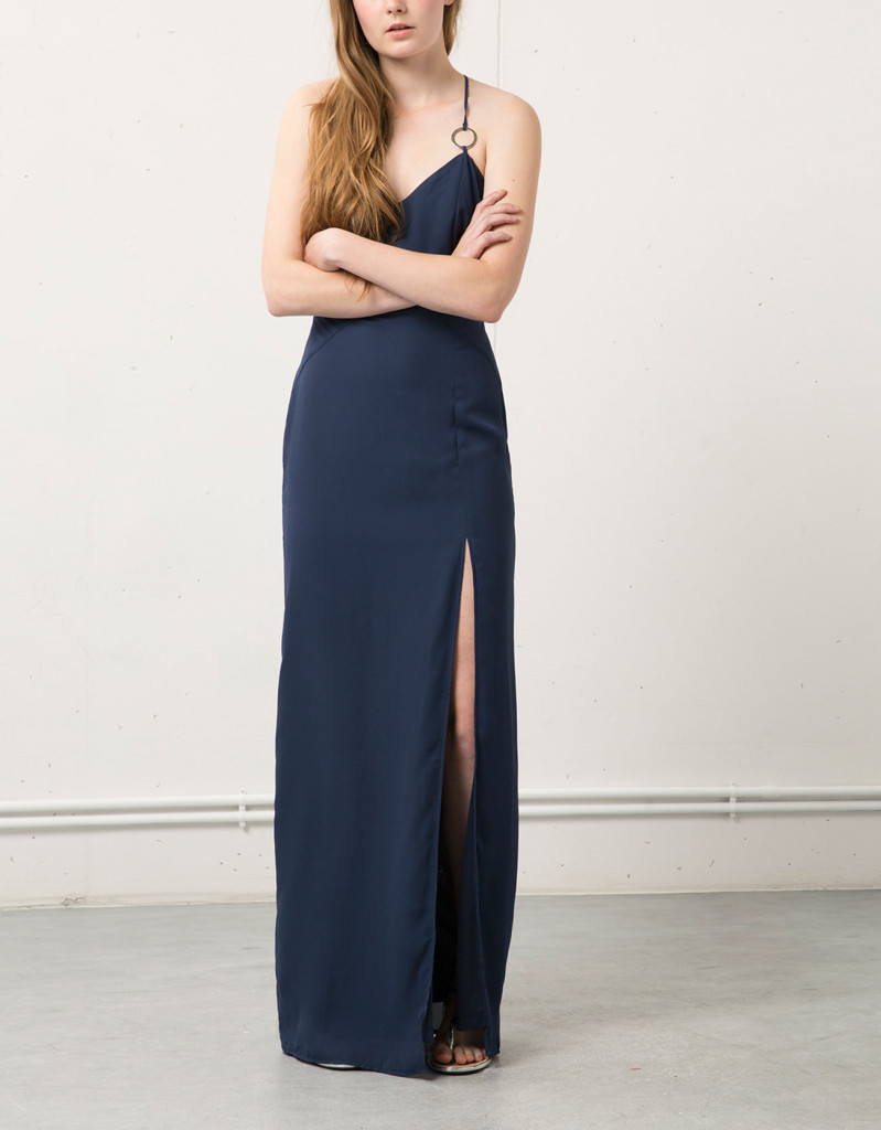 sukienki wieczorowe - bershka