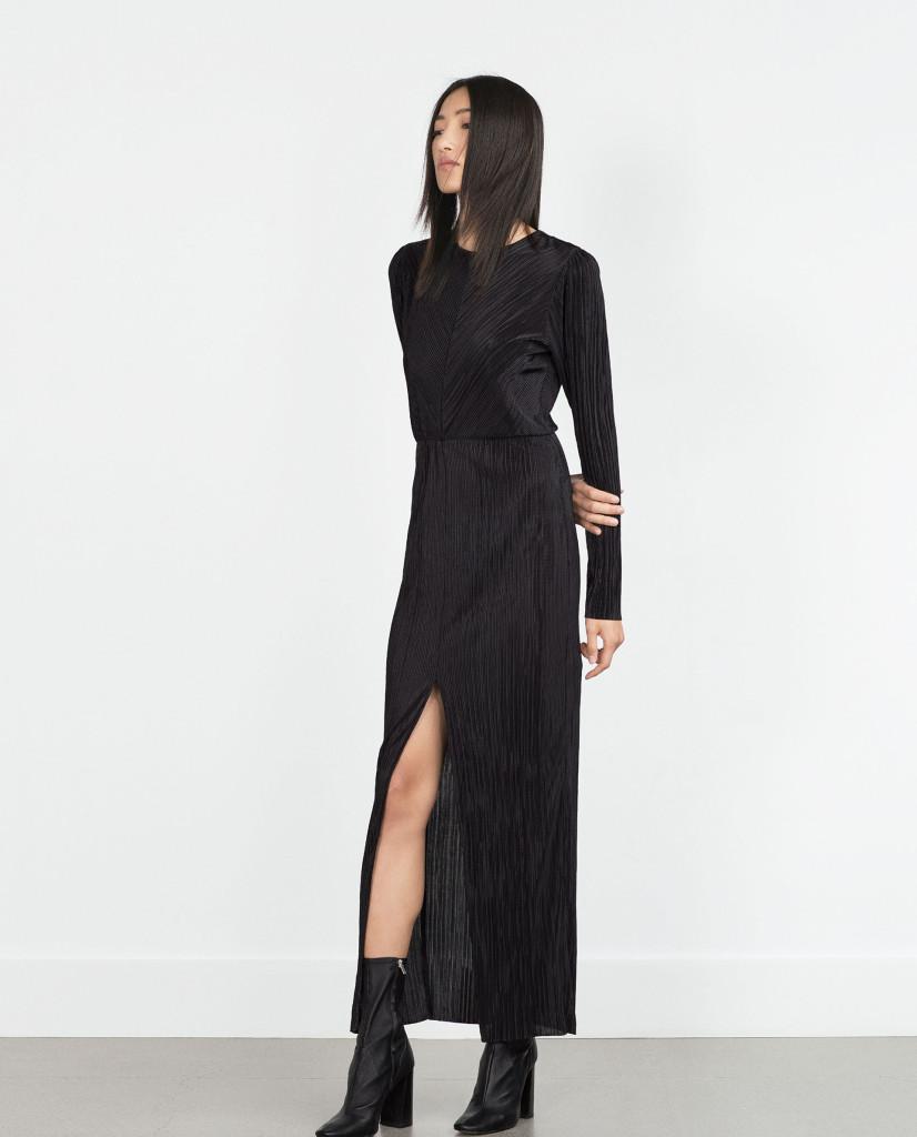 sukienki wieczorowe - ZARA