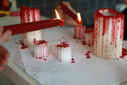 Pomysly_na_dekoracje_z_okazji_halloween_swiece_w_krwi