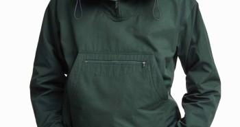 zielona kurtka anorak h&m