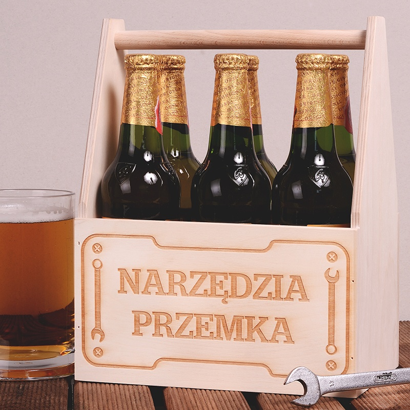 personalizowane nosidło na piwo na dzień chłopaka