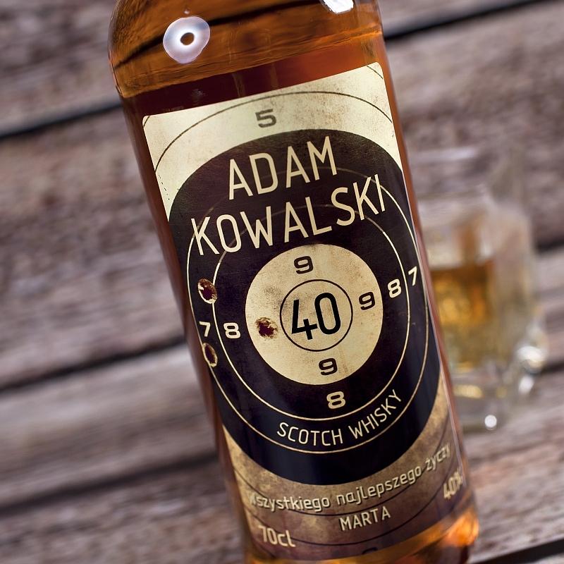 personalizowane whisky na dzień chłopaka