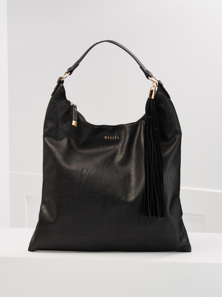 czarna torba worek_mohito