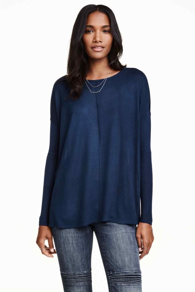 sweter oversize_h&m