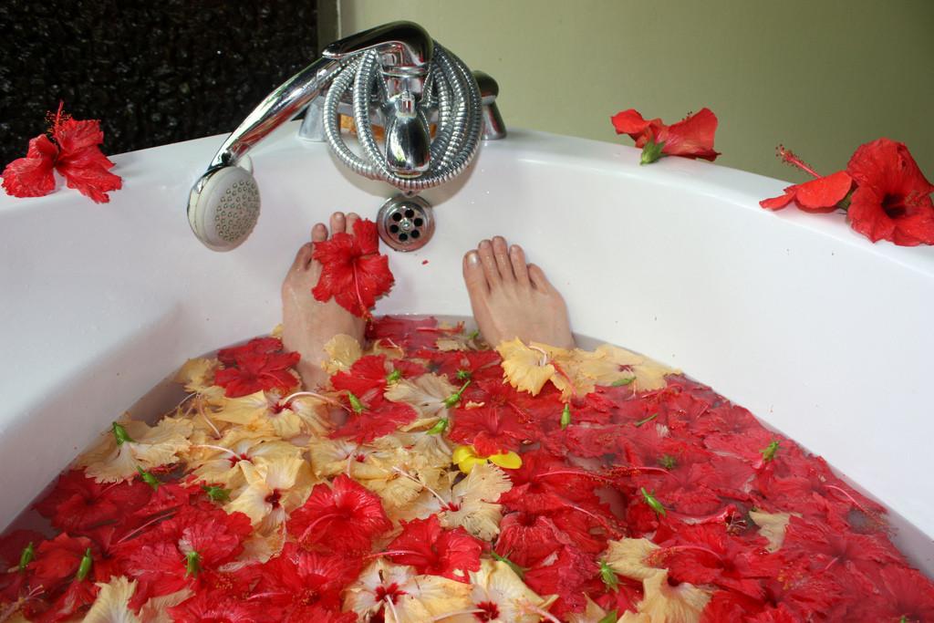kąpiel w domowym SPA