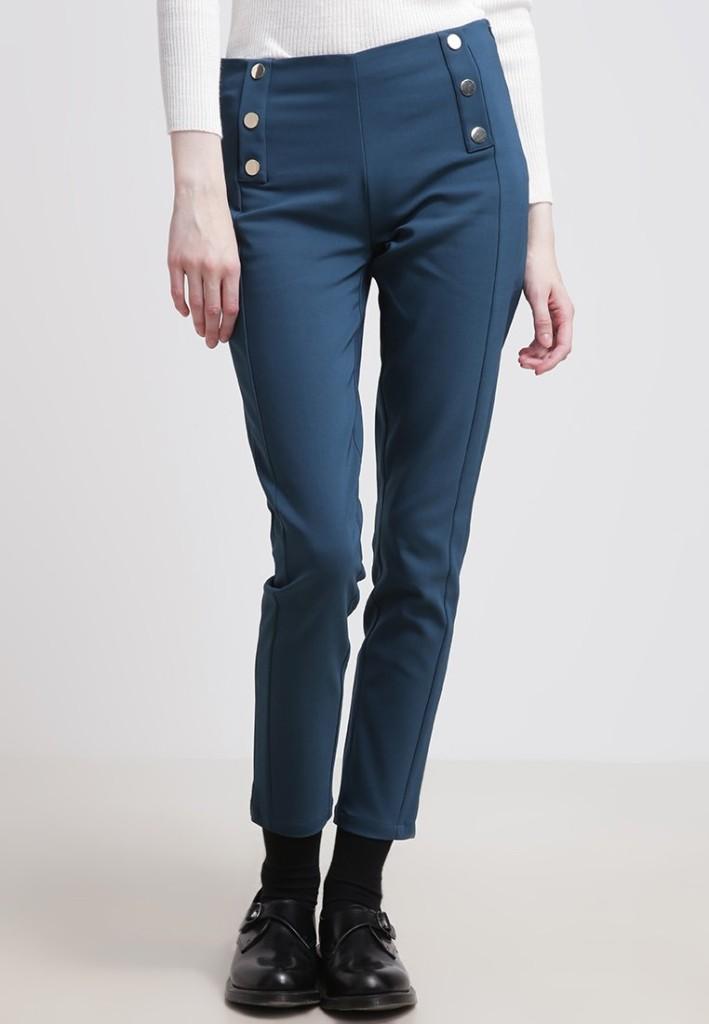 materiałowe spodnie_zalando