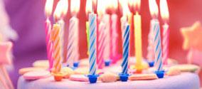 Radość z urodzin